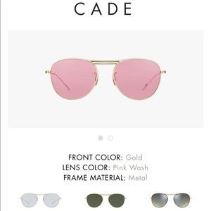 Oliver People's CADE pink wash sunglasses